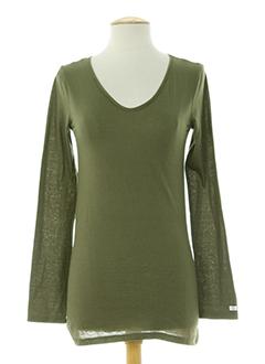 nolita t-shirts femme de couleur vert