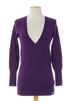 chilli pepper pulls femme de couleur violet