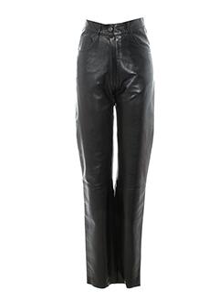 la et canadienne pantalons et decontractes femme de couleur noir
