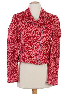 ambre babzoe vestes femme de couleur rouge