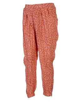 ambre et babzoe pantalons et decontractes femme de couleur rose