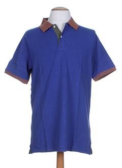 crossways t-shirts homme de couleur bleu