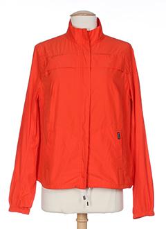 faconnable manteaux femme de couleur rouge