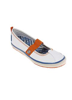 sebago chaussures femme de couleur blanc