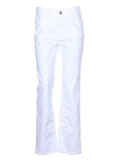 gardeur jeans femme de couleur blanc