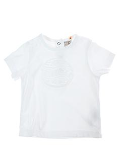 taille 0 t-shirts fille de couleur blanc