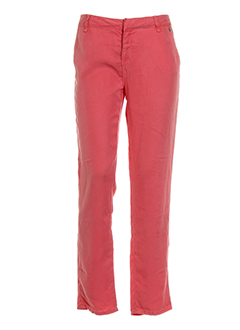 school et rag pantalons et decontractes femme de couleur orange