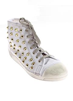 anna fidanza chaussures femme de couleur blanc