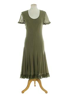 il punto robes femme de couleur vert