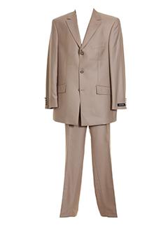 masterhand pantalon et veste homme de couleur beige
