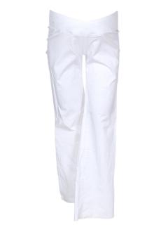 balloon pantalons femme de couleur blanc
