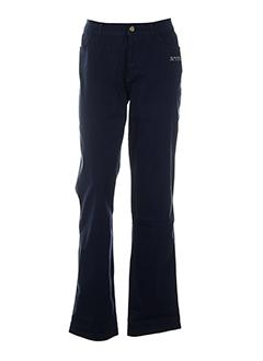 aqua pantalons et decontractes femme de couleur bleu