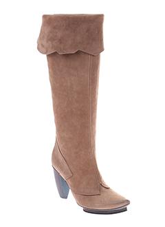 mao chaussures femme de couleur marron