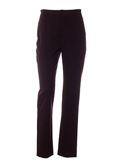 teenflo pantalons femme de couleur violet