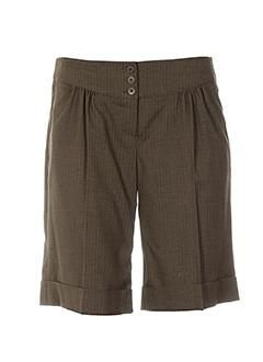 Shorts Et Bermudas Femme De Couleur Vert En Soldes Pas Cher - Modz 0ba46b5cf21