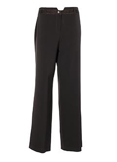 my way pantalons femme de couleur marron