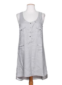 by zoe robes femme de couleur gris