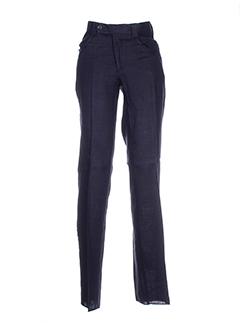 gian alberto caporale pantalons homme de couleur bleu