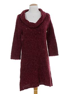 lino factory robes femme de couleur rouge