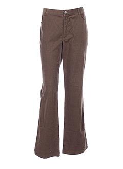 olivier et strelli pantalons et decontractes femme de couleur marron