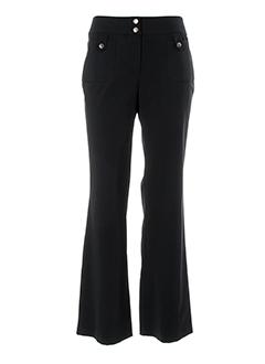 nathalie chaize pantalons femme de couleur noir