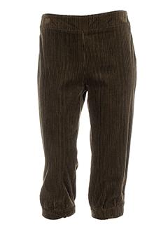 olivier et strelli pantacourts et decontractes femme de couleur marron