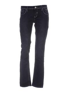 black de la rosa pantalons femme de couleur noir