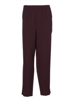 sommermann pantalons et decontractes femme de couleur violet