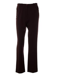 jean gabriel pantalons femme de couleur violet
