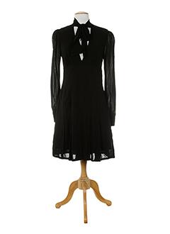 amz robes femme de couleur noir
