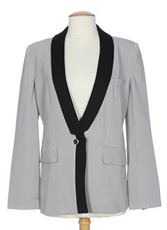 angeltye vestes femme de couleur gris