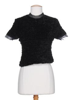 filipine lahoya chemises femme de couleur noir