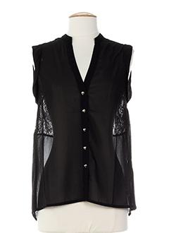 angeleye chemises femme de couleur noir
