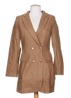 angeleye manteaux femme de couleur marron