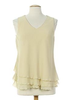 hucke woman chemises femme de couleur beige