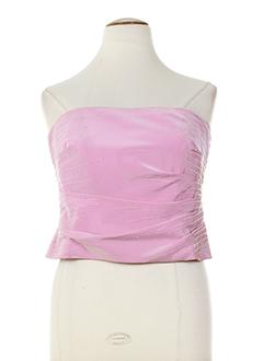 frank usher chemises femme de couleur rose