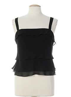 frank usher chemises femme de couleur noir