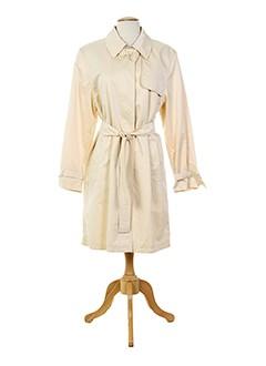 baronia manteaux femme de couleur beige