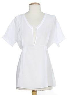american vintage chemises femme de couleur blanc