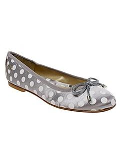 brigitte bardot chaussures femme de couleur gris