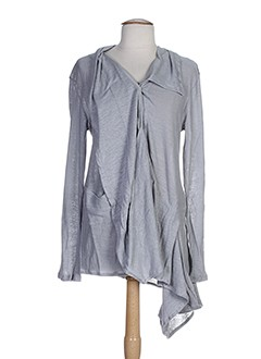 cannisse vestes femme de couleur gris