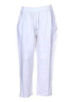 happy few pantalons femme de couleur gris