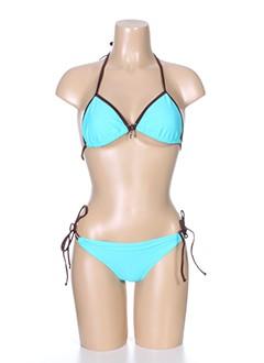little marcel maillots de bain femme de couleur bleu