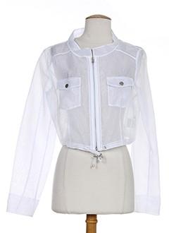 apriori vestes femme de couleur blanc