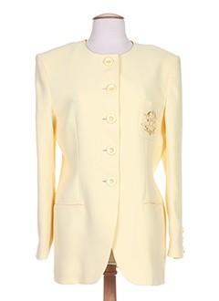 exaltation vestes femme de couleur jaune