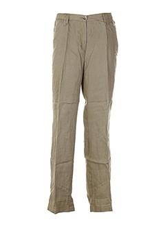 kjbrand pantalons et decontractes femme de couleur marron