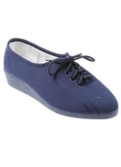 moran et s pantoufle femme de couleur bleu