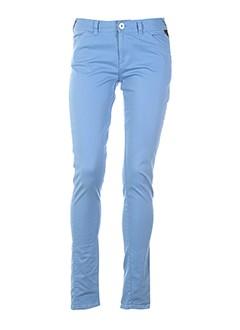 bench pantalons et decontractes femme de couleur bleu