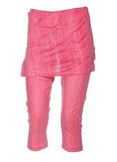 lo! les filles pantacourts femme de couleur rose