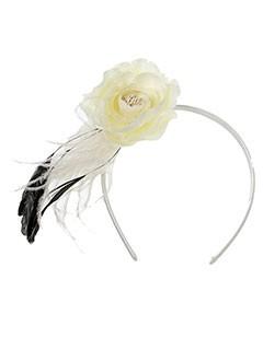 guyliane chapeaux et bonnets femme de couleur blanc